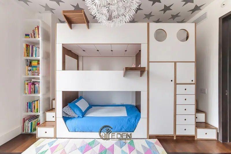 Tại sao gia đình nên lựa chọn giường tầng cho bé?