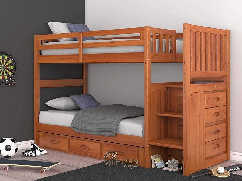Giường thông minh chất liệu gỗ tự nhiên (3)