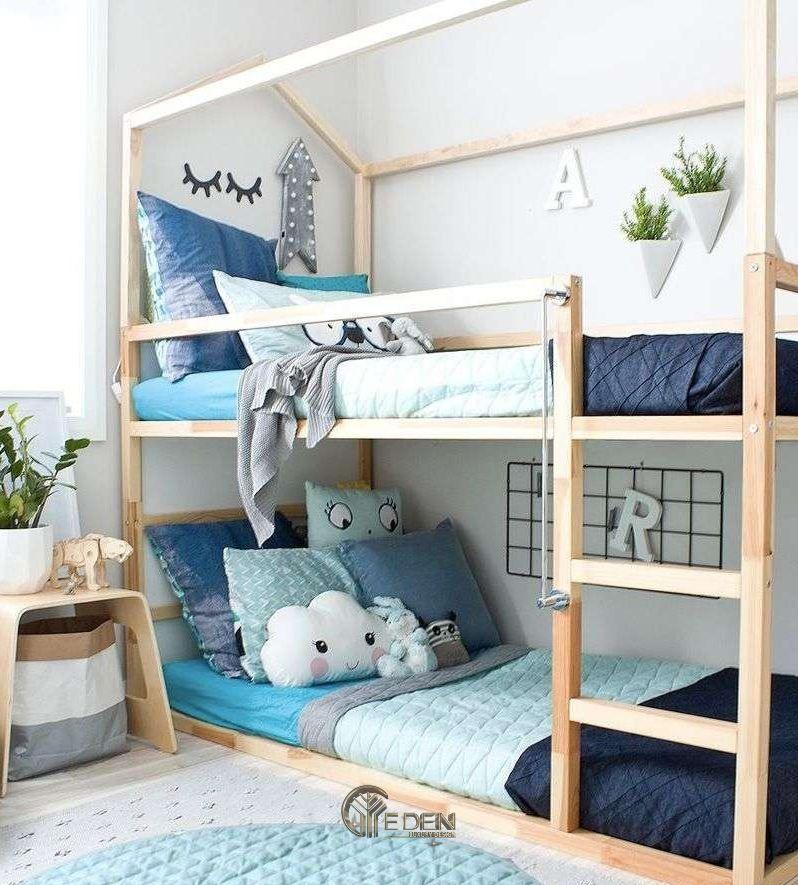 Trang trí phòng ngủ giúp bé có không gian vui chơi, thỏa sức sáng tạo