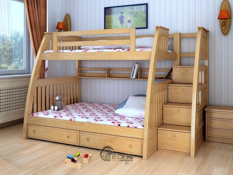 Giường thông minh chất liệu gỗ tự nhiên (5)