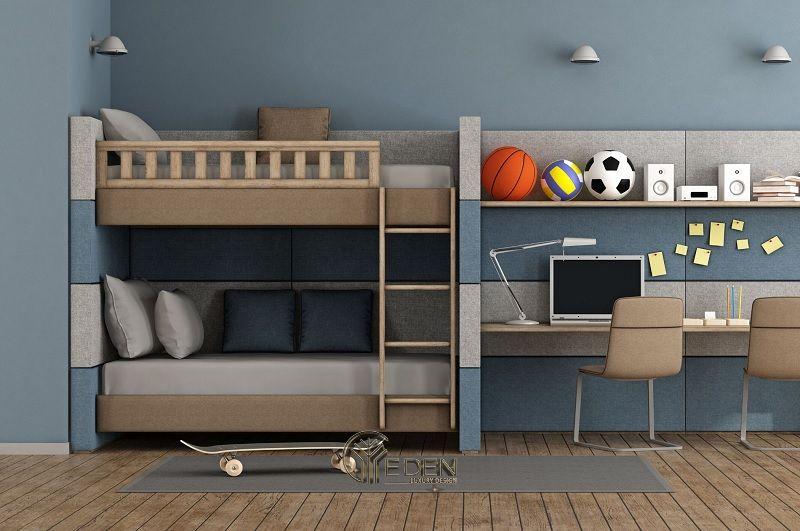 Giường thông minh chất liệu gỗ công nghiệp (1)
