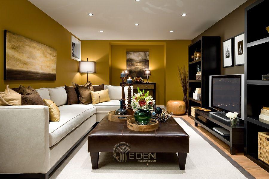 Kệ gỗ tivi trang trí theo phong cách hiện đại, mới lạ dành cho các căn hộ có diện tích nhỏ