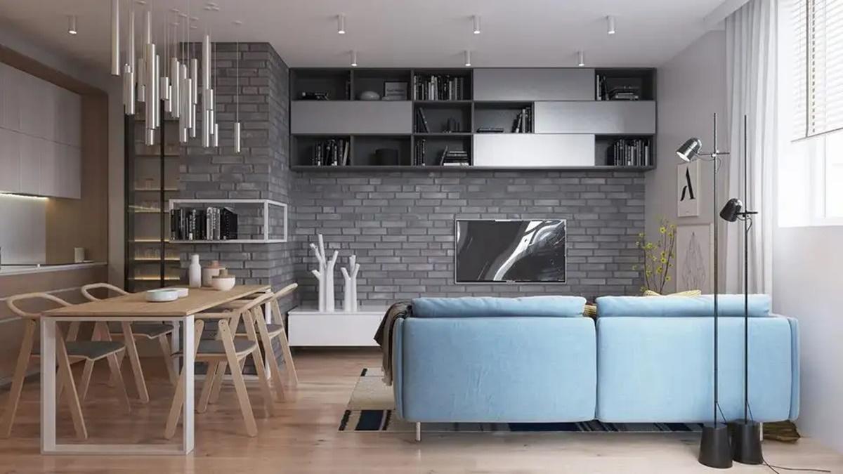 Có nhiều cách để thiết kế nội thất cho chung cư rộng 70m2