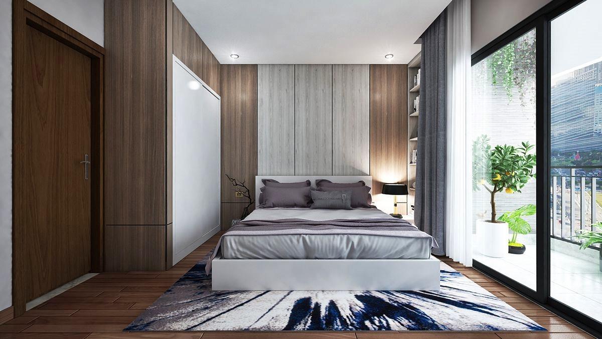 Phong cách tối giản tạo ra không gian thoáng đãng, tràn ngập ánh sáng