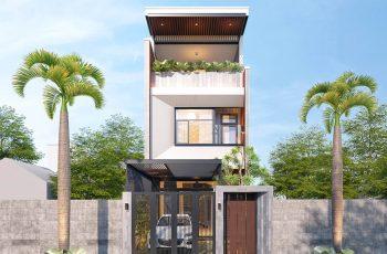 Tư vấn thiết kế nội thất nhà phố 5×20 đẹp hiện đại