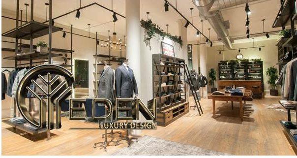 Shop quần áo nam mang phong cách sang trọng