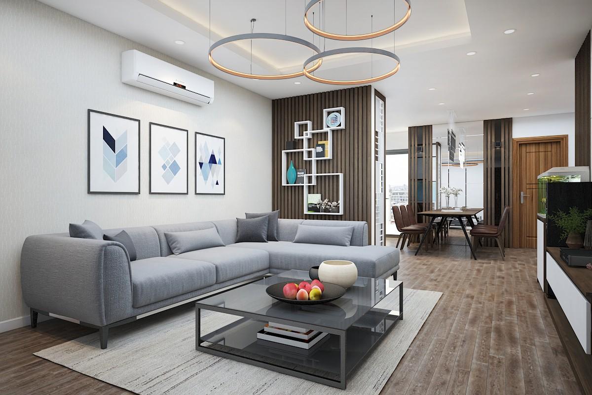Phong cách thiết kế nội thất chung cư hiện đại luôn được yêu thích