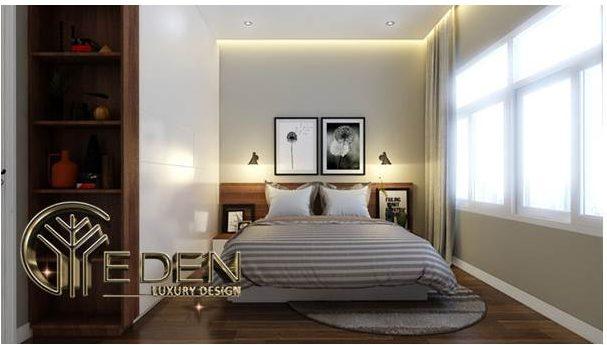 Phòng ngủ đơn giản, thông thoáng