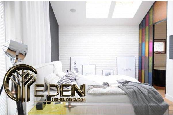 Phòng ngủ master trang nhã phù hợp cho vợ chồng