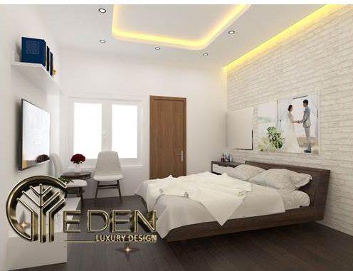 Phòng ngủ lớn phù hợp cho bố mẹ