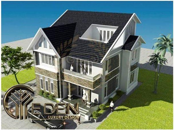 Thiết kế mái nhà ống hợp phong thủy