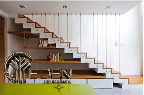 Thiết kế cầu thang nhà ống hợp phong thủy