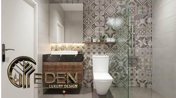 Thiết kế nhà tắm kết hợp nhà vệ sinh khép kín cho phòng ngủ