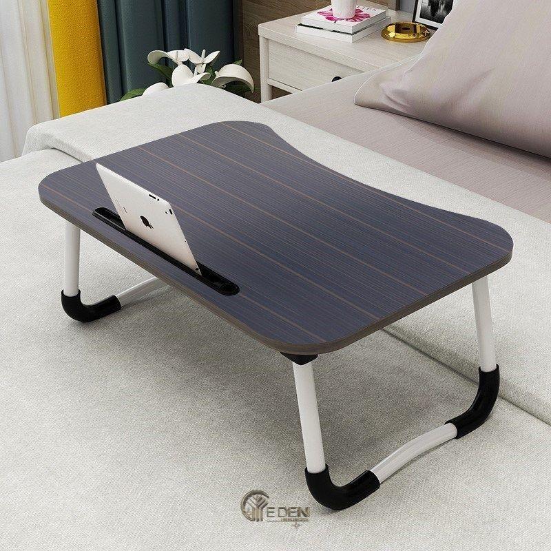 Mẫu bàn làm việc thông minh giá rẻ ngồi bệt có khe cắm Ipad
