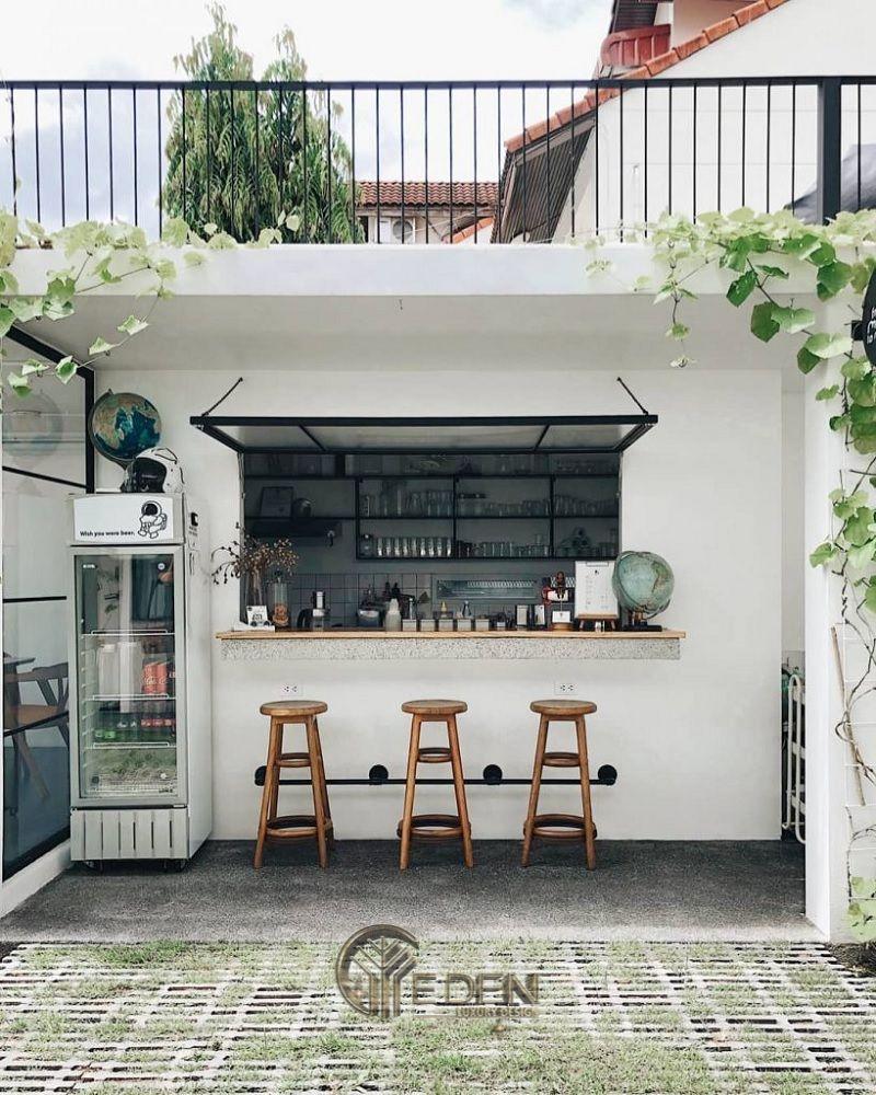 Thiết kế quán cafe take away nhỏ - xinh