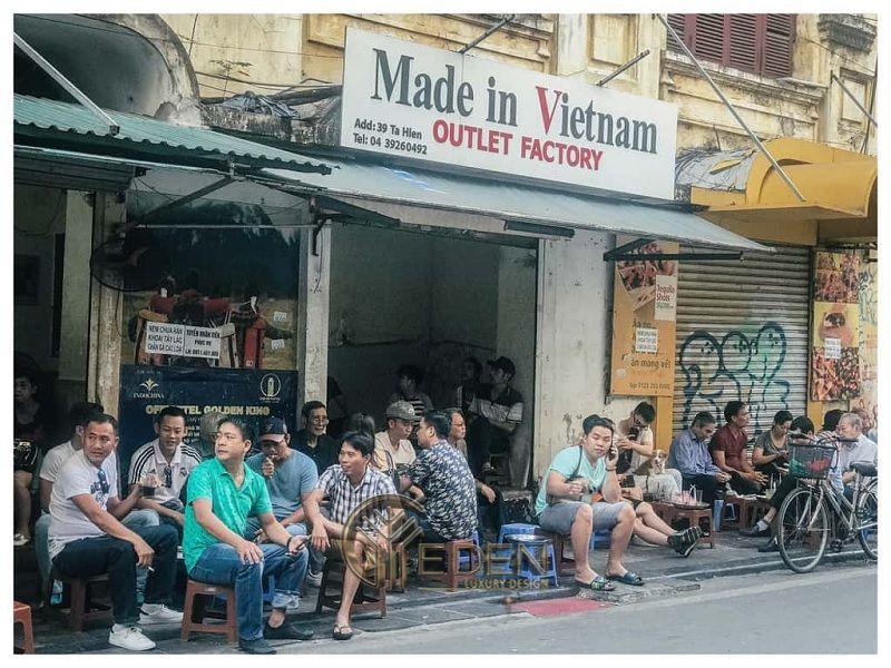 Quán cafe Cóc Việt Nam