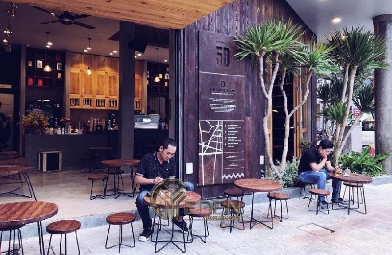 Thiết kế quán cafe vỉa hè cổ điển