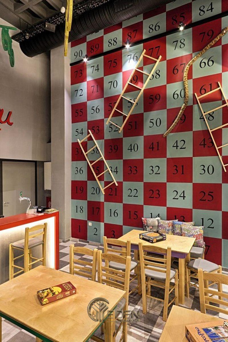 """Thiết kế quán cafe game board """"hot"""" nâng cao tinh thần đồng đội"""