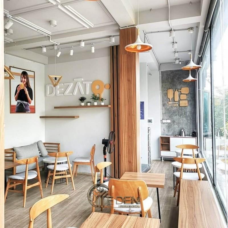 Thiết kế quán cafe phong cách Nhật hiện đại, thời thượng
