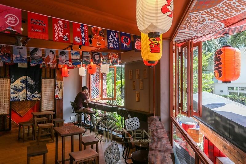 Thiết kế quán cafe phong cách Nhật mang đặc trưng riêng của nền văn hóa