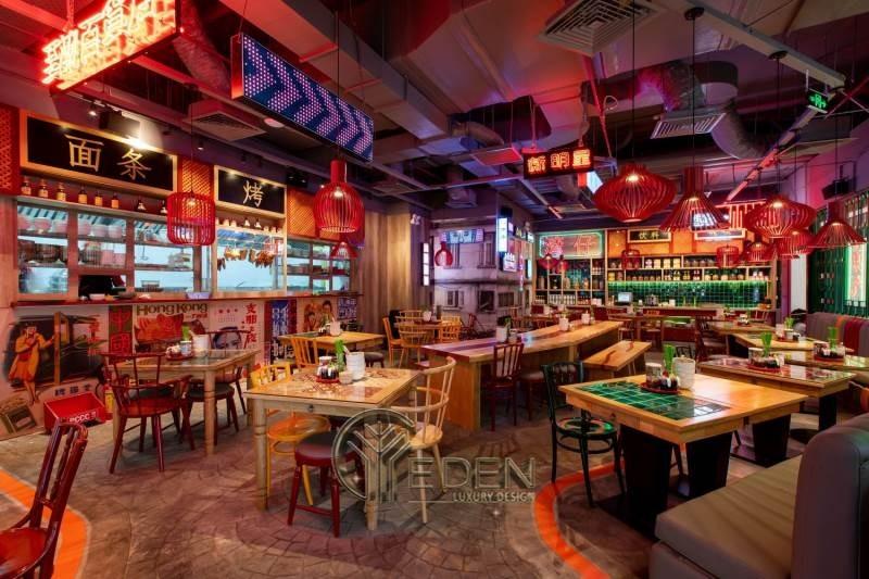 Thiết kế quán cafe phong cách HongKong - Tối giản nội thất - Tăng sức hấp dẫn