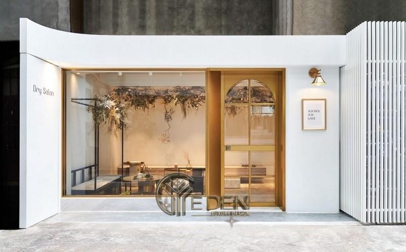 Thiết kế quán cafe phong cách Hàn Quốc nhỏ xinh