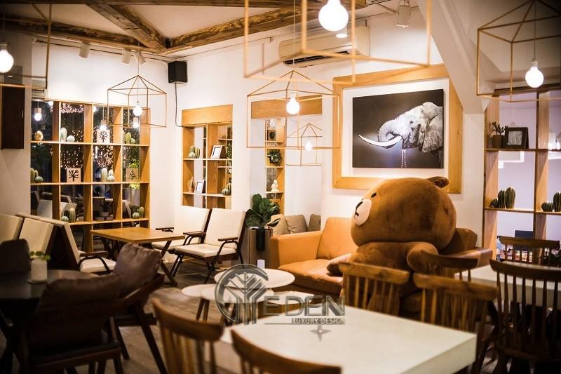 Thiết kế quán cafe phong cách Hàn Quốc nhỏ xinh, lãng mạn