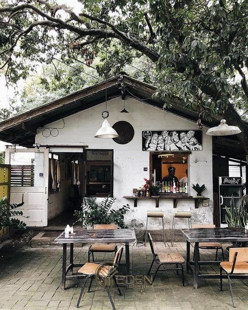 Thiết kế quán cafe phong cách Hàn Quốc nhỏ xinh mang nét cổ điển
