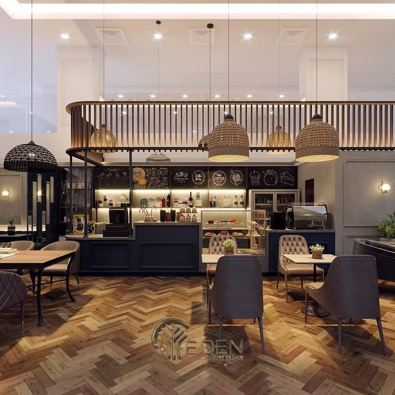 Thiết kế quán cafe phong cách Châu Âu sang trọng
