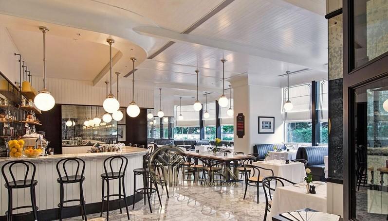 Thiết kế quán cafe phong cách Châu Âu hiện đại đến từng chi tiết