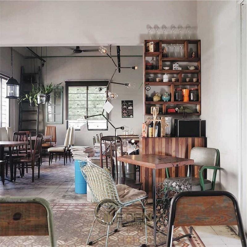 Thiết kế quán cafe phong cách Retro năng động