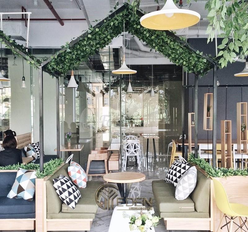 Thiết kế quán cafe mở hiện đại độc đáo