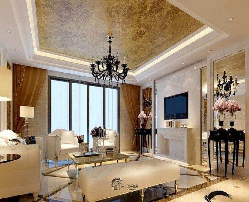 Phù hợp với những căn phòng tuyệt vời có trần cao hoặc trần hình vòm