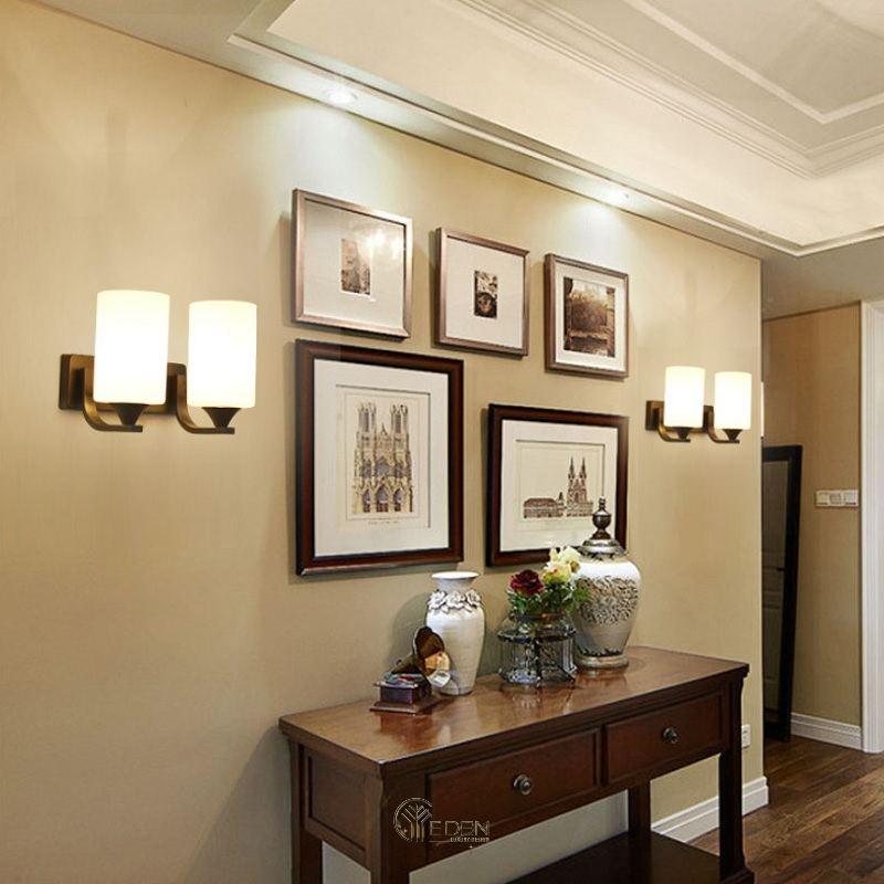 Mẫu đèn tường trang trí trong phòng khách