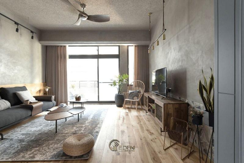 Giúp đẩy không khí ấm ra khỏi không gian khiến phòng khách luôn khô thoáng