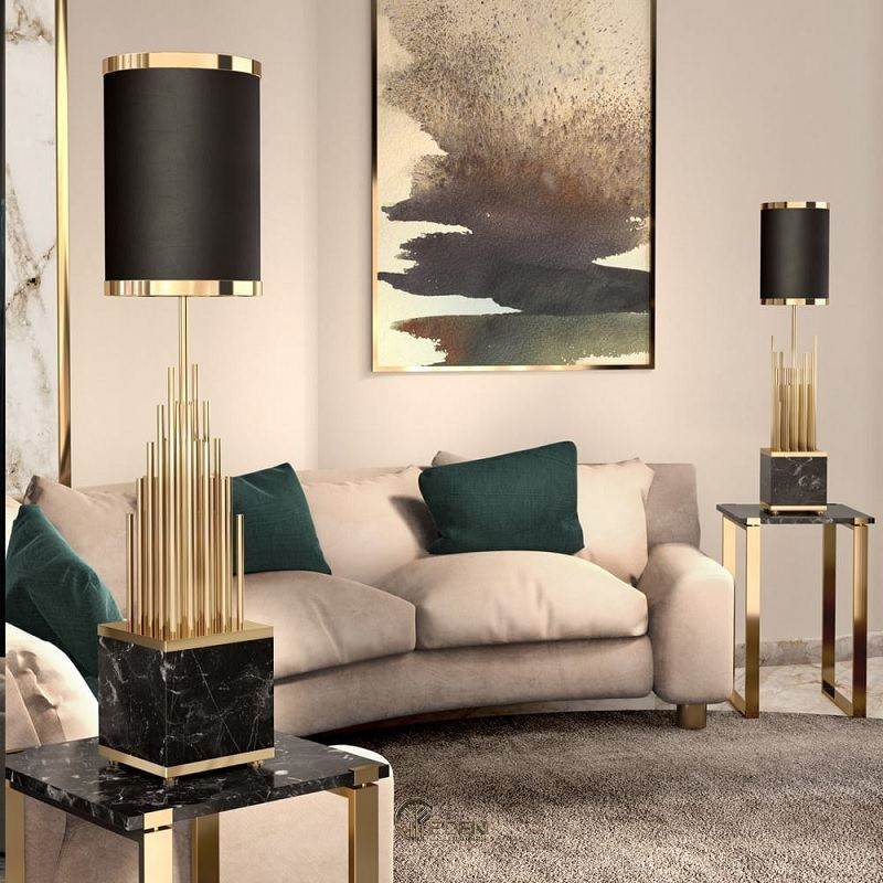 Nên lựa chọn một cặp để cân bằng bố cục căn phòng, nên đặt ở hai bên của một chiếc ghế dài hoặc ở các góc của căn phòng