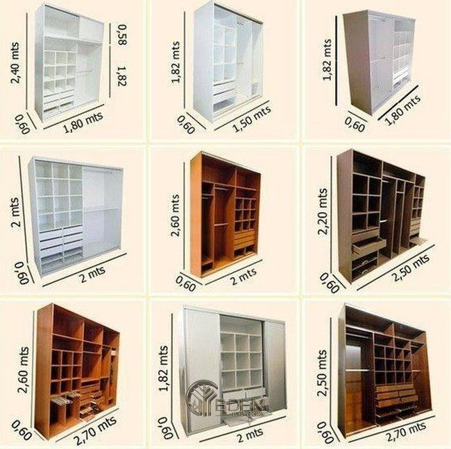 Lên bản vẽ thiết kế các ngăn tủ