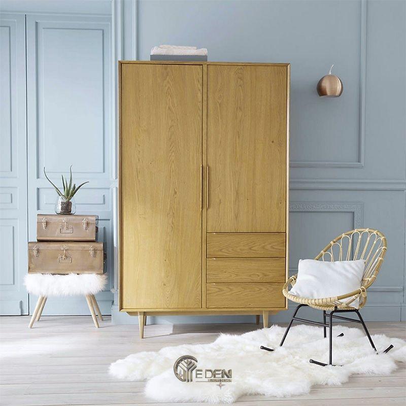 Mẫu tủ quần áo đơn giản, dễ dóng tại nhà (1)