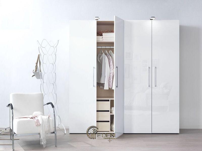 Mẫu tủ quần áo đơn giản, dễ dóng tại nhà (5)