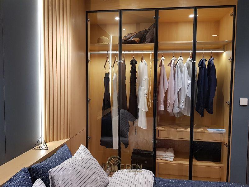 Mẫu tủ quần áo đơn giản, dễ dóng tại nhà (2)