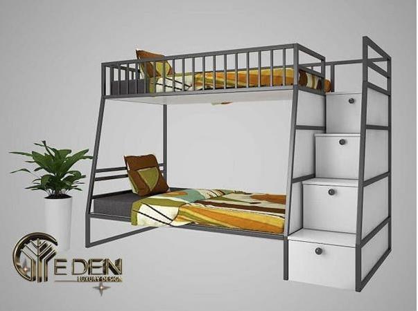 Kiểu giường tầng giúp tiết kiệm không gian