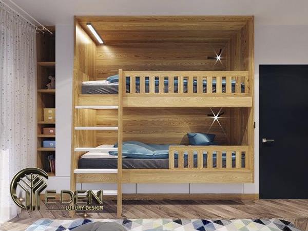 Cách bố trí giường tầng
