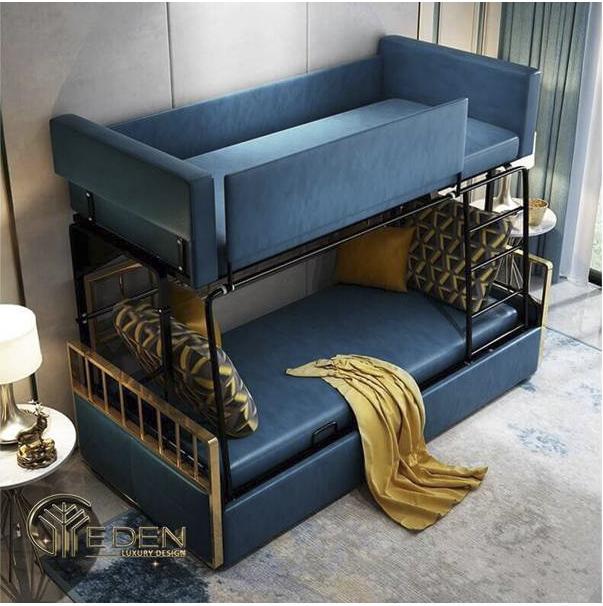 Giường tầng ghế sofa thông minh, tiện nghi