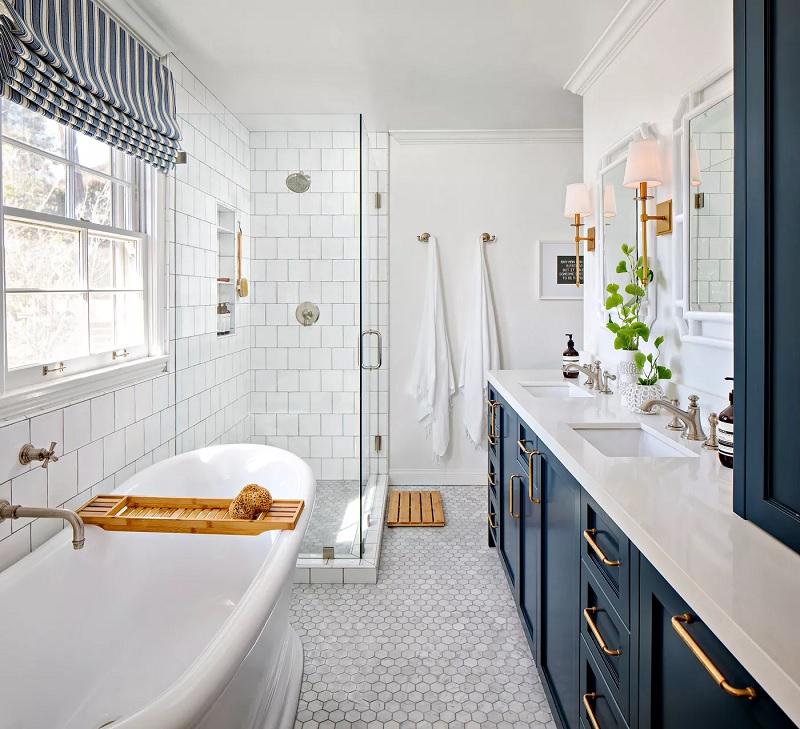 Mẫu nhà vệ sinh hiện đại cho không gian nhỏ, tuy đơn giản nhưng tinh tế, khác biệt