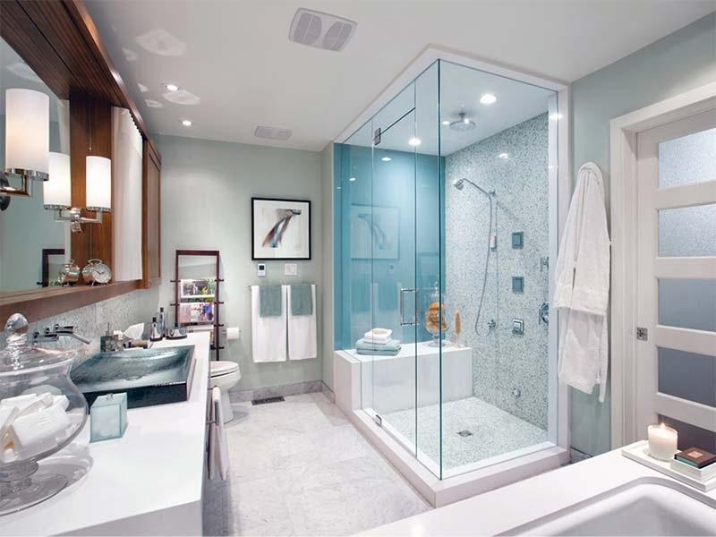 Mẫu nhà vệ sinh hiện đại, đơn giản tinh tế