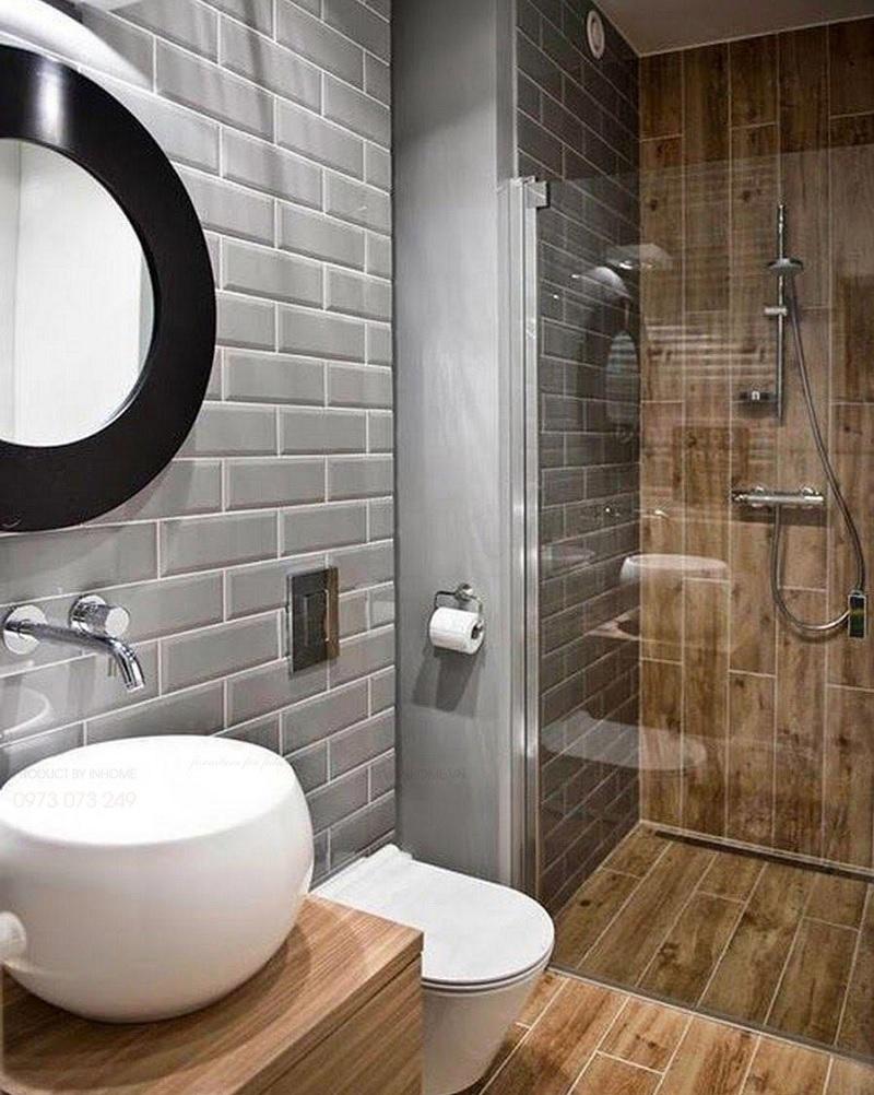 Thiết kế vách tắm bằng kính xuyên thấu