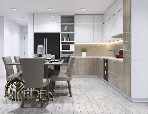 Nội thất nhà bếp hiện đại, tiện nghi