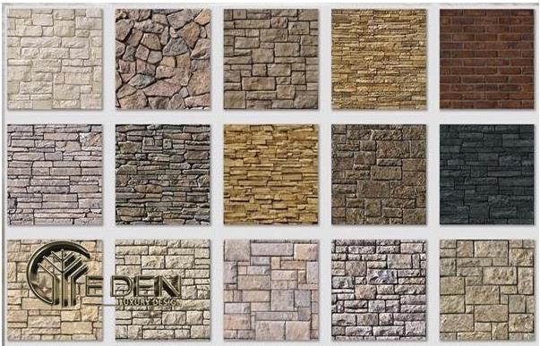 Gạch tự nhiên ốp tường đẹp mắt