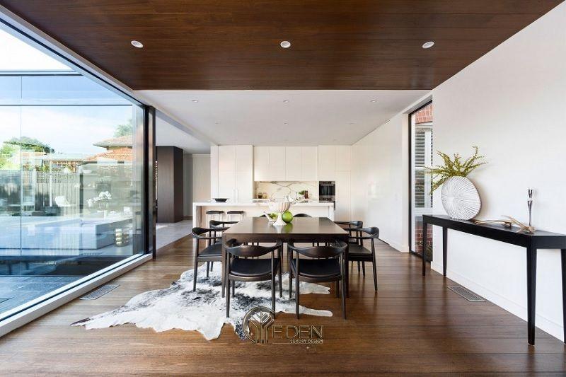 Thiết kế thi công nội thất biệt thự phòng Bếp – Mẫu 3