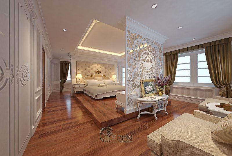 Thiết kế thi công nội thất biệt thự phòng ngủ - Mẫu 2